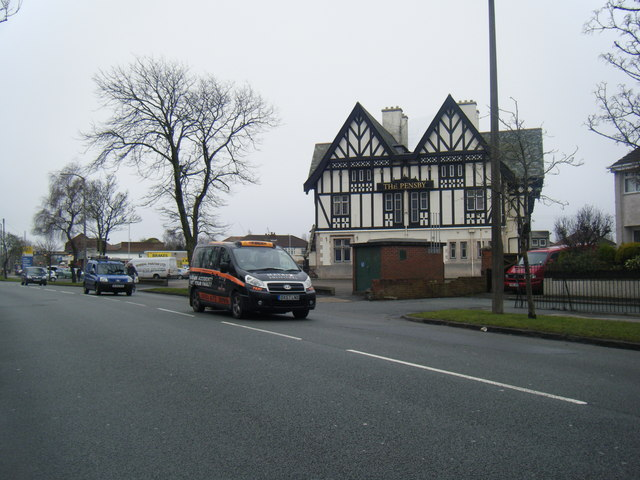 The Pensby public house.