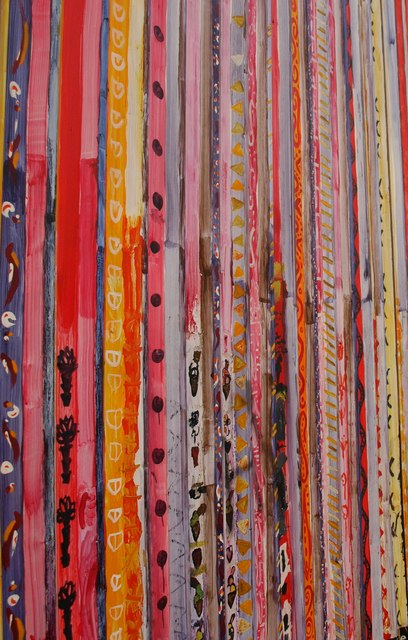 Fence of many colours (1)
