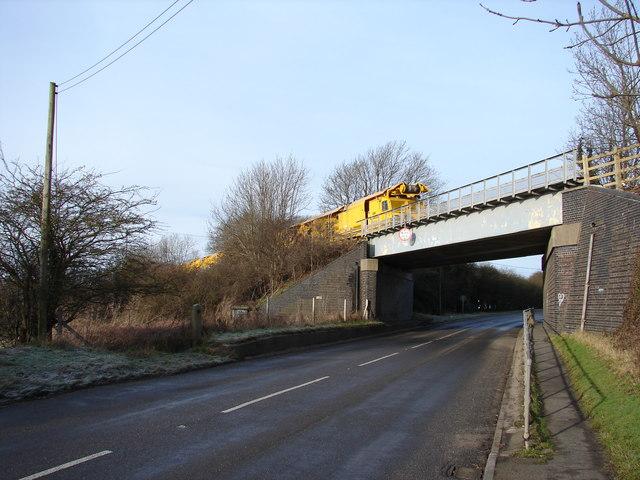 Railway bridge on B1164