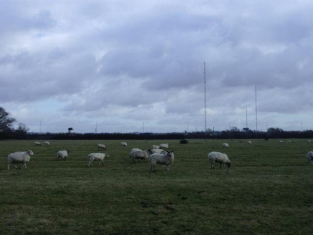 Radio masts, Lilbourne