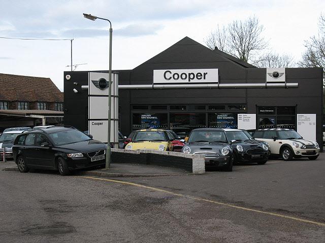 Cooper's car dealership, Tadworth