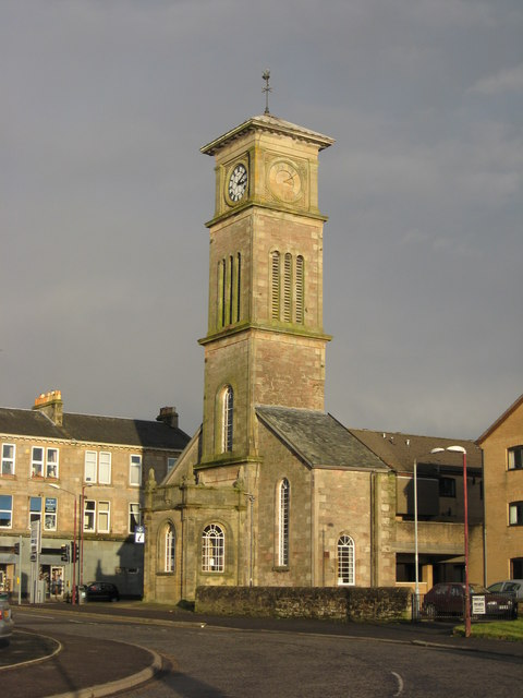 Clock tower and Tourist Information