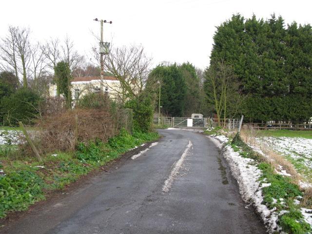 View N along Preston Road