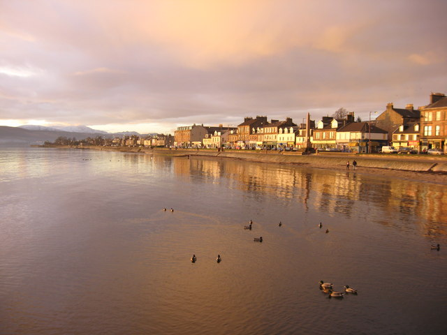 West Clyde Street from the pier, Helensburgh