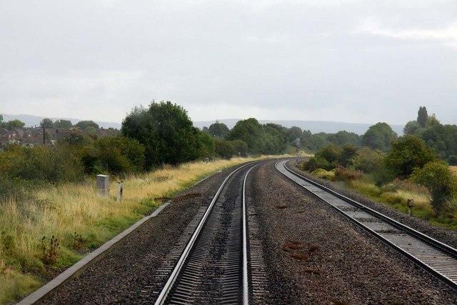 The line crosses Witcombe bridge