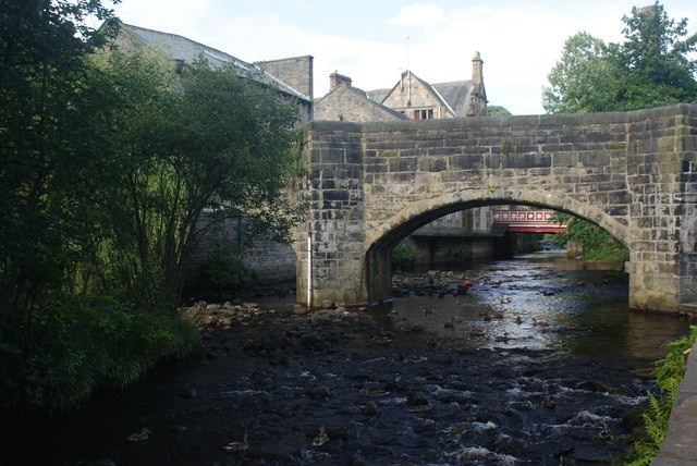 Bridges over Hebden Water