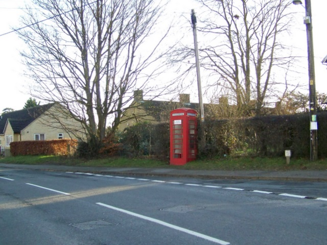 Telephone box, Shrivenham