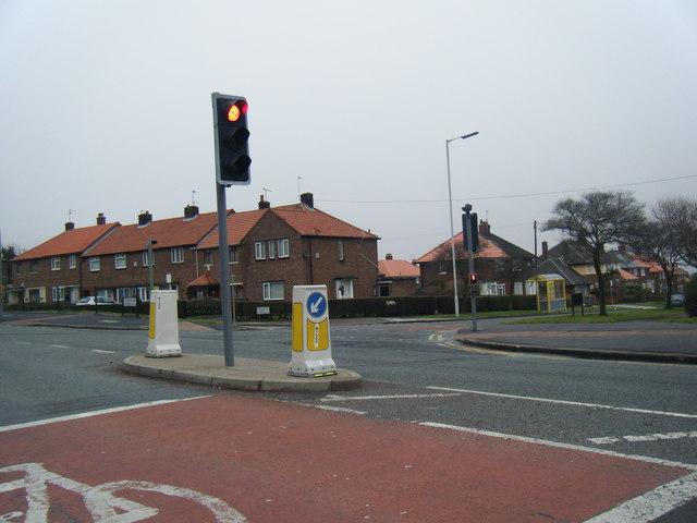 Storeton Road/Mount Road junction.