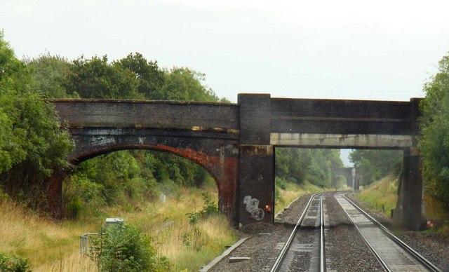 Pirton Lane Bridge in Churchdown
