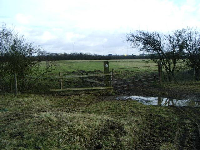 Bridleway, south of Lilbourne near M1