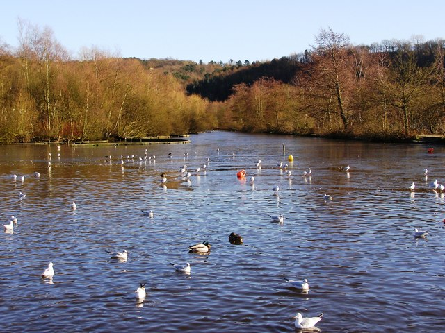 Etherow Country Park, the lake