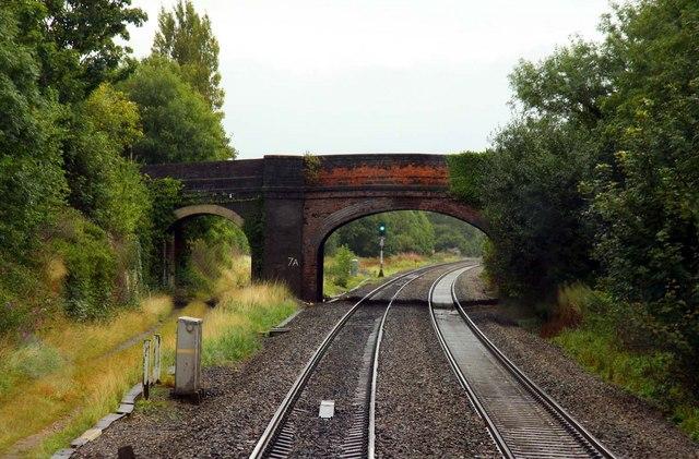 Station Road Bridge in Churchdown