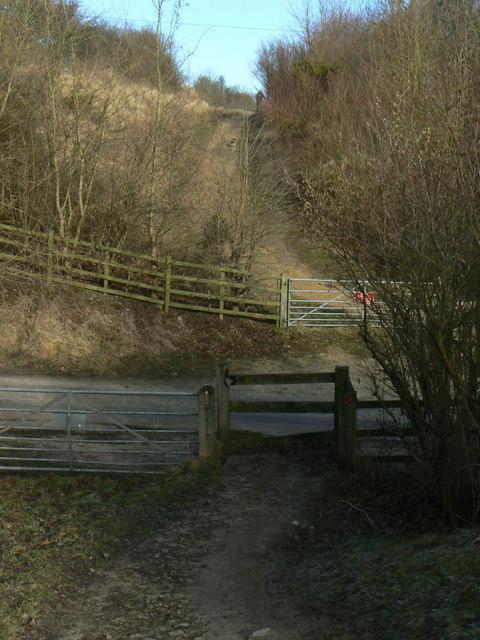 Site of bridge
