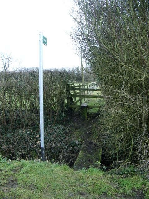Footpath on Hillmorton Lane, Lilbourne