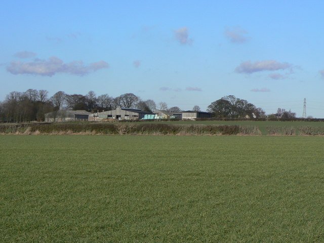 View to Hall Farm
