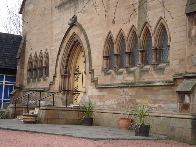 Entrance, Ibrox Parish Church