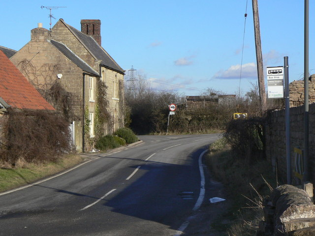 Stony Houghton Bus Stop
