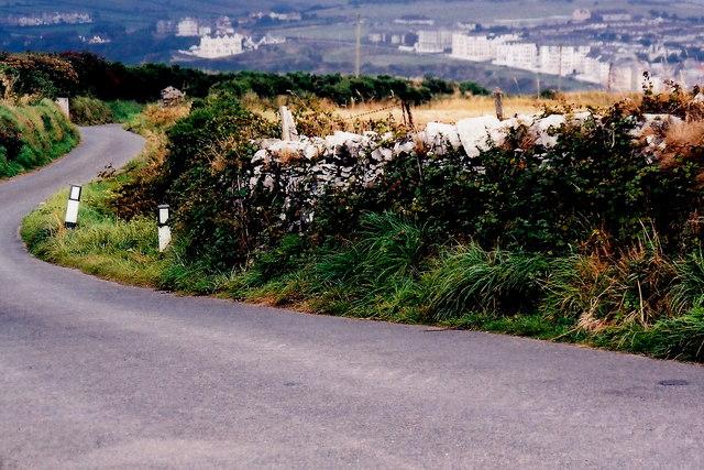 Mull Hill - Creaneash-to-Port Erin Ballnahowe Road