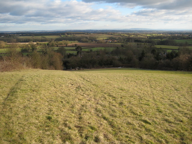View to the east from Penny Hill
