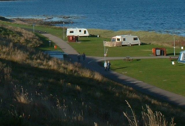 Caravan Site, Peterhead