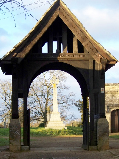 Lych gate, St Andrew's Church