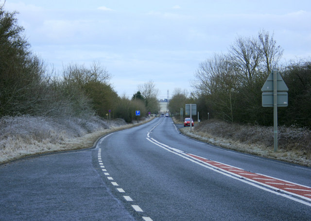 2010 : A36 looking north west toward Beckington