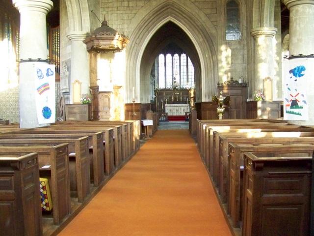 Interior, St Andrew's Church
