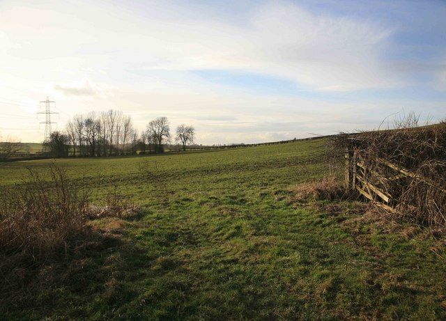 View across the fields nr Laxton