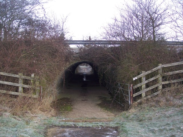 The Wealdway subway under the A21 Dual carriageway (2)