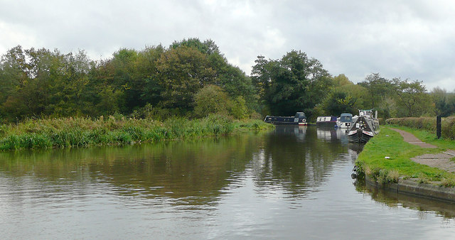 Trent and Mersey Canal at Great Haywood, Staffordshire