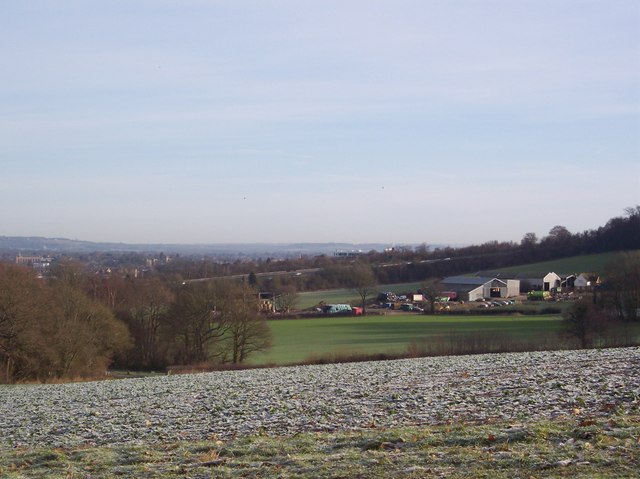 View from the Wealdway near Beechy Toll