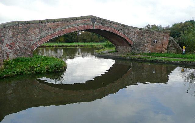 Bridge at Great Haywood Junction, Staffordshire