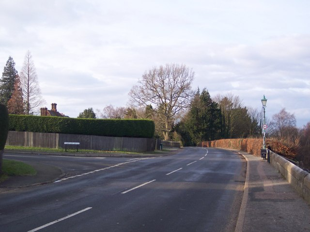 Junction on B2126 Bidborough Ridge