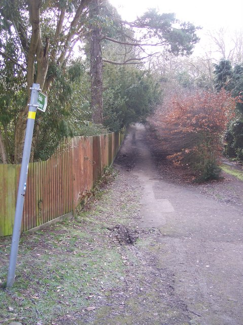 Bridleway to Southborough Common