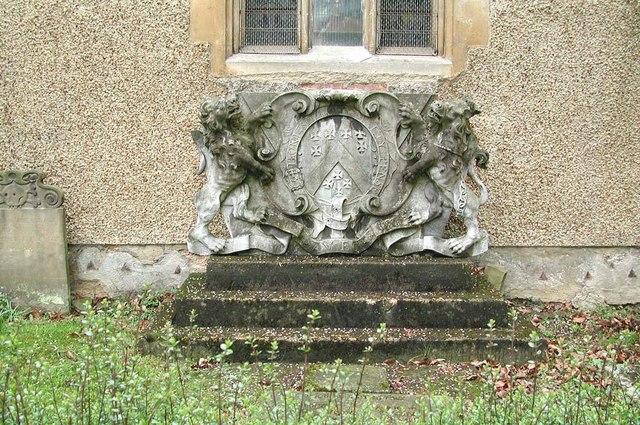 St Dunstan, Cranford - Monument