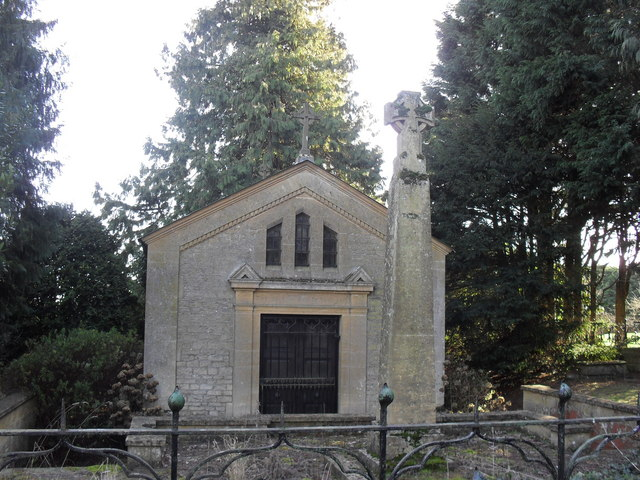 The De Cros family vault