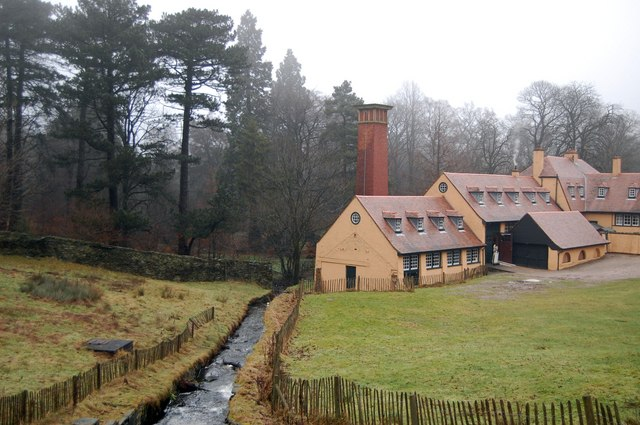 The Old Mill, Lyme Park