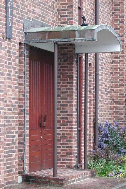 Holy Angels, Cranford - Doorway