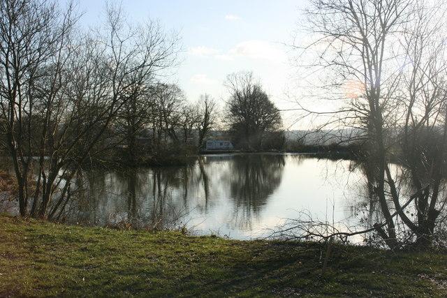 Lake, St Ives Farm