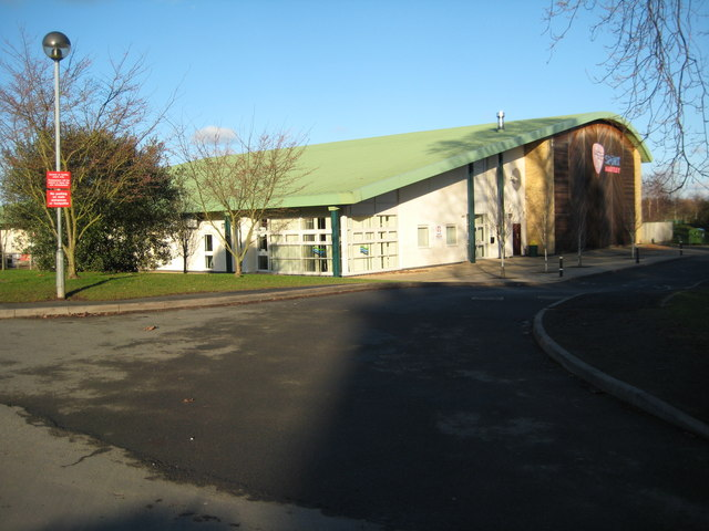 Sports centre at Martley