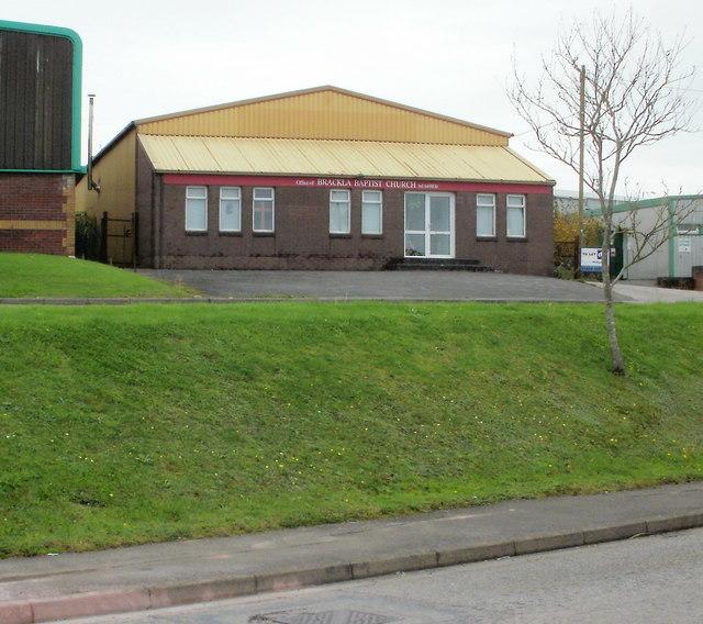 Brackla Baptist Church office, Bridgend