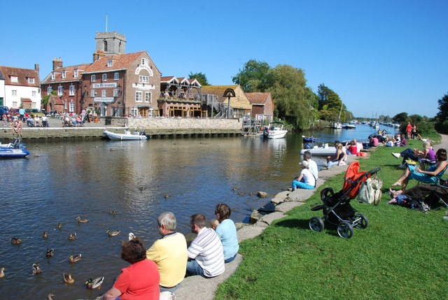 Wareham: River Frome and The Old Granary