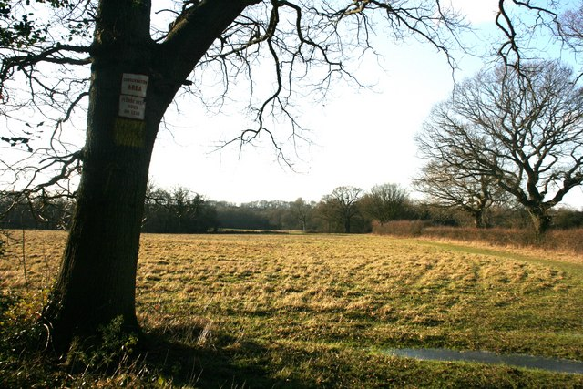 Entering a conservation area, High Weald Landscape Trail