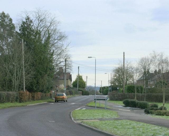 2010 : B3099 leaving Dilton Marsh to the east