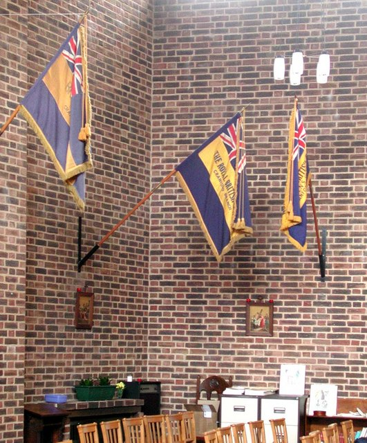 Holy Angels, Cranford - Flags