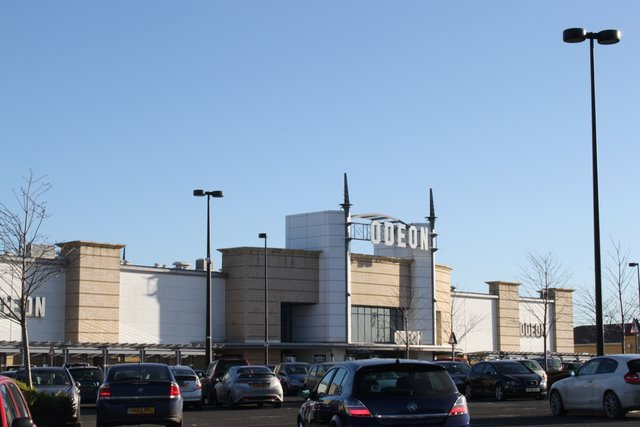 Odeon cinema Dunfermline