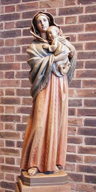 Holy Angels, Cranford - Statue