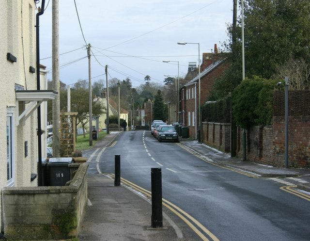 2010 : Westbury Leigh looking east