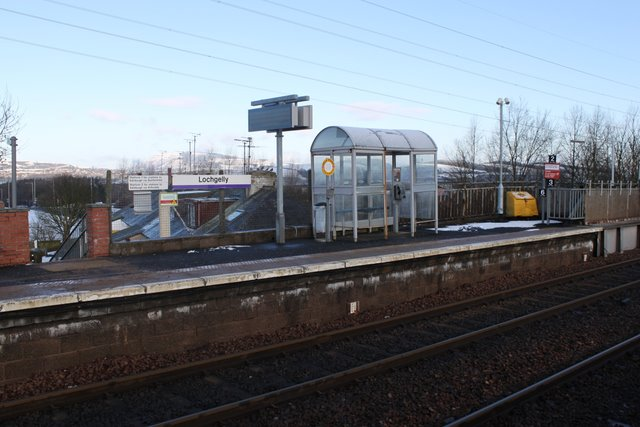Railway station Lochgelly