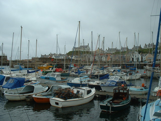 Findochty Harbour